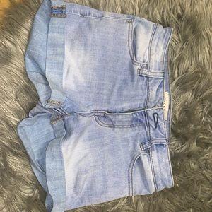 Super stretch midi rise shorts